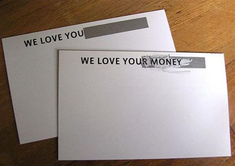 honest business card