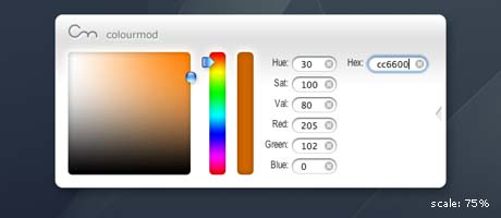 colourmod widget