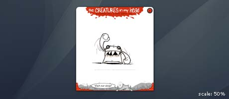 creatures in my head widget