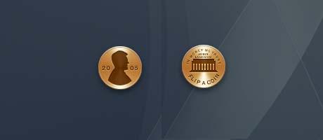 flip a coin widget