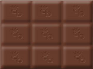 Create chocolate in Photoshop