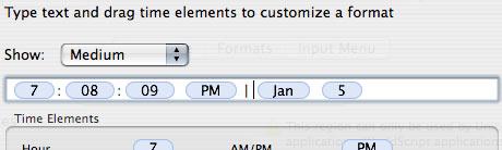 date customization