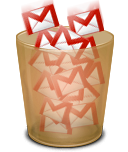 GMail Trash icon