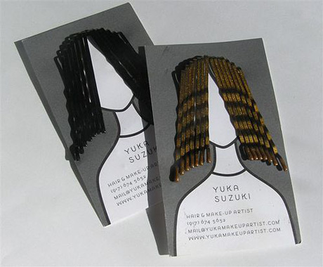 Hair Styling Business Card