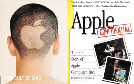 Cult of Mac and Apple Confidential 2.0 covers
