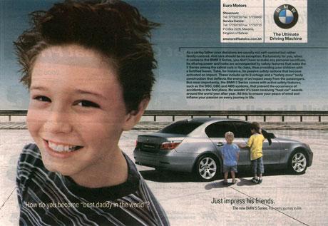 BMW press ad
