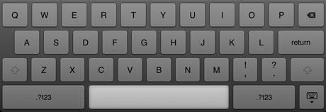 iPad space