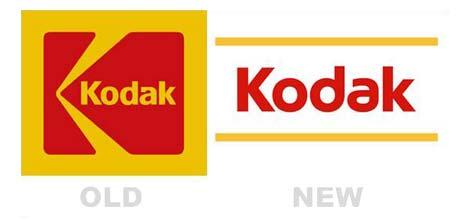 new Kodak logo
