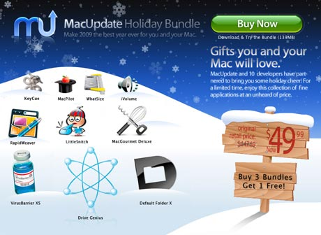 MacUpdate Holiday Bundle