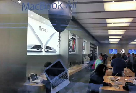 apple store balloon