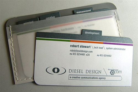 portfolio business cards