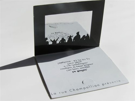 puppeteer business card