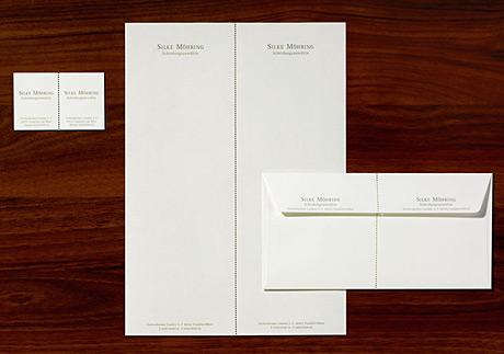 Business Card Design Visitenkarte Aushängeschild Marke Firma Logo Typografie Design