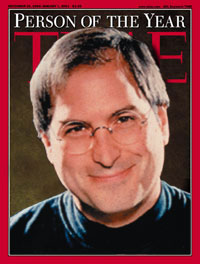 fake Time magazine cover: Steve Jobs Person of the Year